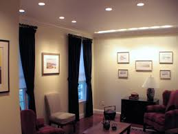 Lights For Living Room Interior Can Lights Living Room With Cream Upholstery Sofa