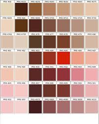 Pantone Brown Color Chart Www Bedowntowndaytona Com