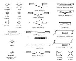 floor plan symbols door. Modren Floor Floor Plan Symbols For Doors Windows And Electrical New Home Endear Inside Door L