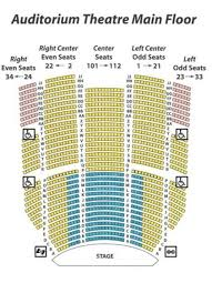 Auditorium Theater Seating Chart 47 All Inclusive The Chicago Theater Seating
