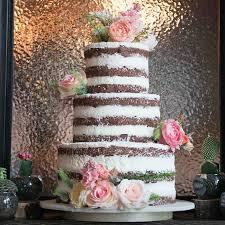 Naked Layer Wedding Cake Theweddingmall