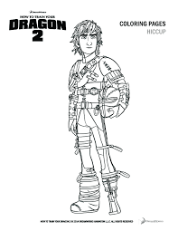How To Train Your Dragon 2 Coloring Pages And Activity Sheets New