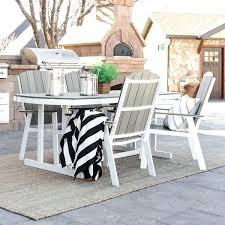 modern white outdoor dining set chairs australia 5 piece coastal grey free decorating good looking