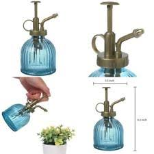 Decorative Spray Bottle Mygift Vintage Style Blue Glass Water Spray Bottle Decorative 99