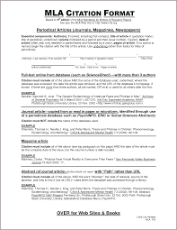 Example Research Paper Mla Format Works Cited Research Paper
