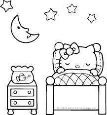 Coloriage Hello Kitty Princesse Liberate