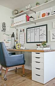 Ikea home office design Elegant Steps To More Organized Office Decor Fix Pinterest Steps To More Organized Office My Playroomstudio Pinterest
