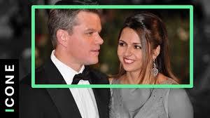 La storia d'amore mai ascoltata di Matt Damon e sua moglie - YouTube