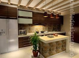 Balinese Kitchen Design Dwell Design Studio Semi D Hijauan Residence Cheras Rustic
