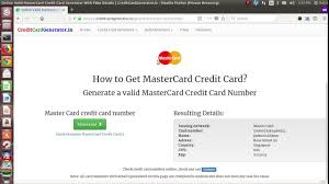 And Valid Generator Online Credit Validator Card Youtube wxgwvSqT4