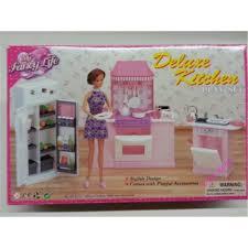 Dolls House Kitchen Furniture Aliexpresscom Buy Miniature Furniture My Fancy Life Deluxe