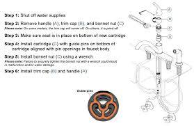 delta faucet leak handle how