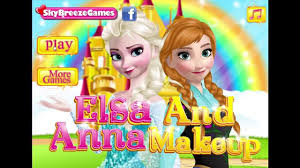 disney s frozen games elsa and anna make up