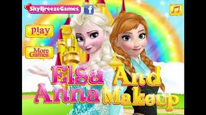 disney s frozen games elsa and anna make up