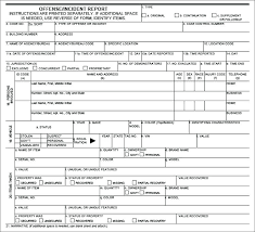 Police Incident Report Template Templates Form Example Crash