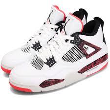 Details About Nike Air Jordan 4 Retro Iv Bright Crimson Pale Citron Hot Lava Aj4 308497 116