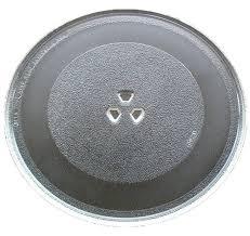lg goldstar microwave glass turntable plate 12 3 4