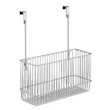 Over The Cabinet Basket Classico Over Cabinet Basket Interdesign 50110 Racks Hooks