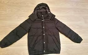 man s boys winter padded coat new h m small