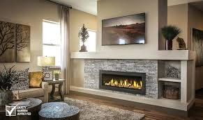 linear gas fireplace. Direct Vent Linear Fireplace Gas Insert P