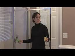 housekeeping tips how to remove hard water stains on glass shower doors you