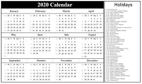 2020 calandars minimal one page calendar for 2019 2020 free printables