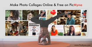 Free Online <b>Collage</b> Maker - PicMyna.com