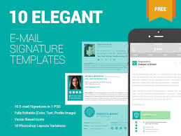 Email Signature Template Cool 44 Free Email Signature Templates By ZippyPixels Dribbble