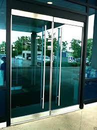 retail door chime door chime door stainless steel entry entrance front glass