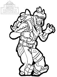 Coloriage silvallie pokemon multigenome generation 7. Fortnite Battle Royale Rex Coloriage Fortnite Battle Royale Coloriages Pour Enfants