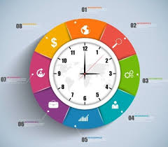 Clock Chart Template Pin On Ui About Tab