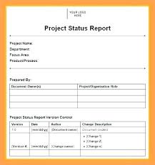 Monthly Report Template Federal Probation Sales Example