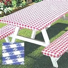 elastic fitted vinyl indoor outdoor round patio table tablecloth zipper