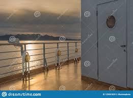 Nautical Cruise Ship Deck Lighting Metal And Brass Exterior