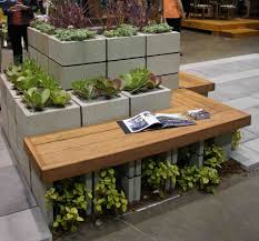 unusual garden furniture. Block Outdoor Furniture Garden Made Out Of Pallets Unusual Cinder Set And Mossy D