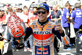 The repsol dual collections, the honda dual line, the official marc marquez accessories and clothing are waiting for you. Motogp Marc Marquez Takes Le Mans Spoils News Michelin Motorsport