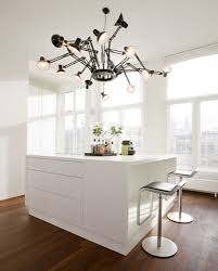 Kitchen Lamp Modern Kitchen With Lamp In Apartment By Hofman Dujardin