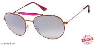 Shop online for Ray-Ban RB3540 Medium (Size-56) Cooper Silver ...