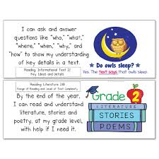 Grade Common Core Standards Posters I Can Statements - Math & ELA