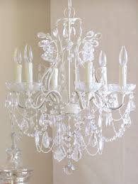 6 light leafy antique white crystal chandelier rosenberryrooms with well known white and crystal chandeliers