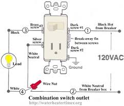 how to wire switches combination switch outlet light fixture 110v Switch Wiring Diagram how to wire switches combination switch outlet light fixture turn outlet into switch outlet light fixture diy {rewire} pinterest wire switch, 110v electric motor switch wiring diagram
