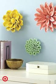 wallflower decoration wall flower decor wall flower decor wall flower decor  on 3d ceramic flower wall art with wallflower decoration kemist orbitalshow