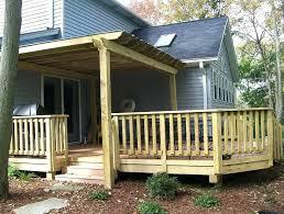 front porch railing ideas diy plans wood design