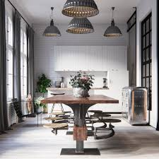 Industrial Style Kitchen Lighting 32 Industrial Style Kitchens That Will Make You Fall In Love