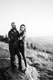 Allison + Zach   Mountaintop Engagement   Easterday Creative