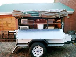 Diy travel trailer Awning Prev Build Green Rv Reader Diy Tent Trailer Built For Namibia Caravan Outdoor Life
