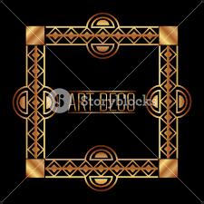 ornate gold frame border. Exellent Ornate Art Deco Frame Border Ornate Gold Decoration Vintage Vector Illustration On Ornate Gold Frame Border