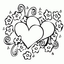 Small Picture Get This Simple Hearts Coloring Pages to Print for Preschoolers