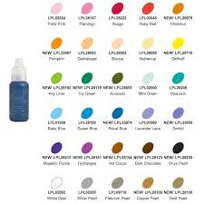 Pearl Color Chart Liquid Pearls Pearl Color Pearls White Opal