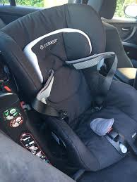 maxi cosi axiss group 1 car seat with summer cover used